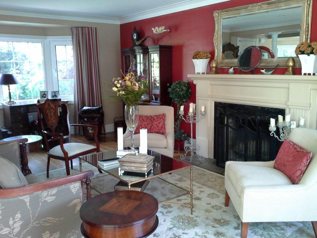 Jane living room after