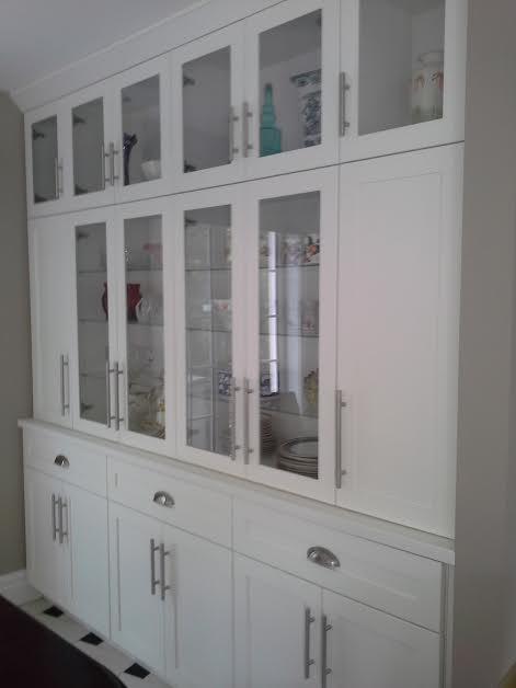 built in kitchen unit