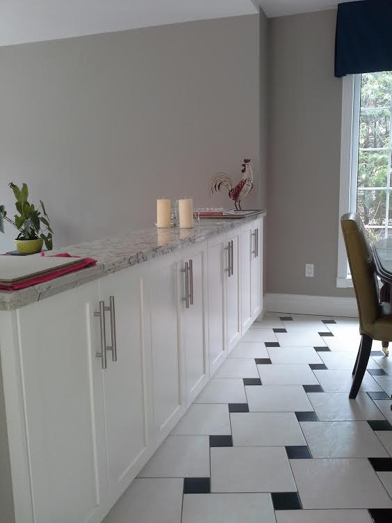 Kitchen new cabinetry