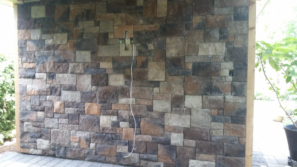 The Stone Focal Wall