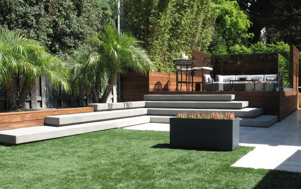 Here is one of the inspiration photos for our outdoor space