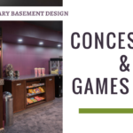 Concession And Games Area Contemporary Basement Thumbnail