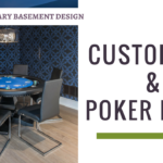Bar And Poker Room Contemporary Basement Thumbnail