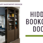 Hidden Bookcase Door Contemporary Basement Thumbnail