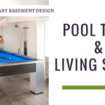 Living Pace, Pool Table And Stairs Contemporary Basement Thumbnail
