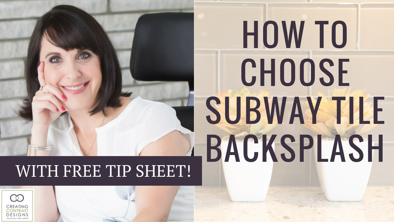 How To Choose Subway Tile