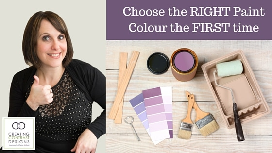 Get the Right paint colour the first time - mailchimp letter photo