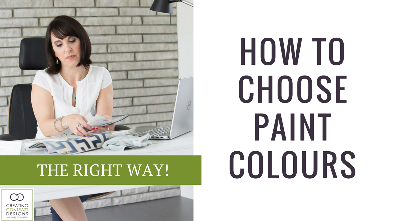How To Choose the Right Paint Colour