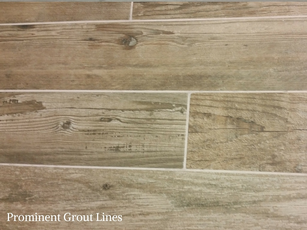 Prominent Grout Lines