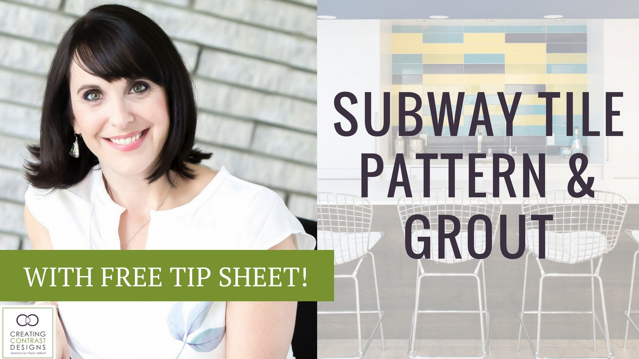 Subway Tile – Patterns and Grout Options
