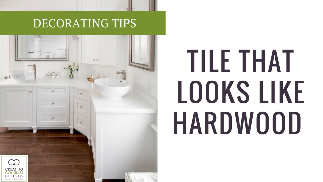 What You Need To Know When Using Hardwood Looking Tile