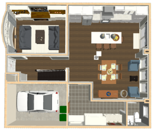 Room Planner of Main Floor Re-Design.