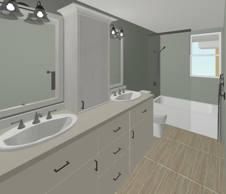 bathroom option2 rendering