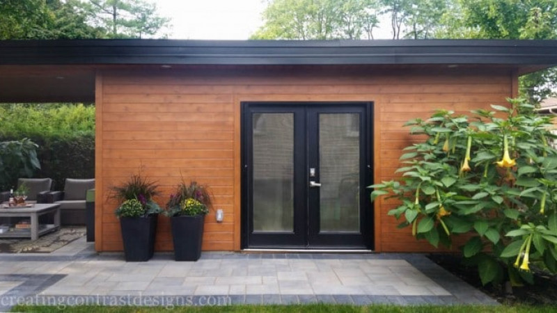 My Outdoor Studio & Landscaping Project!