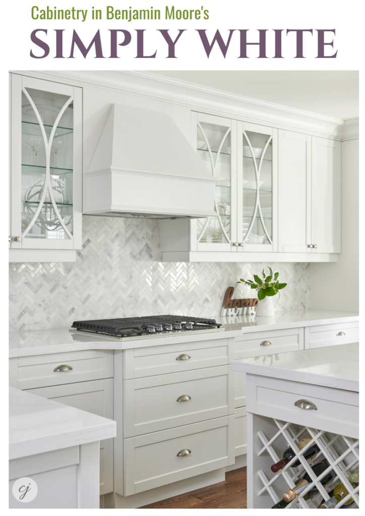 Simply White by Benjamin Moore.