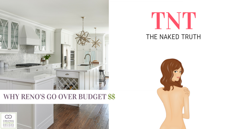 Why Renovations Go Over Budget