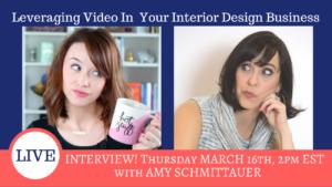 Leveraging Video in yor interior design business