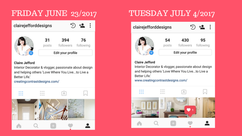 Build Your Brand on Instagram – Claire Jefford
