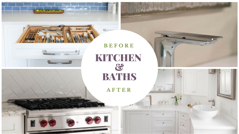 Kitchens And Baths – Before & After