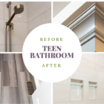 Teen Bathroom Makeover Before And After