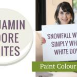 Benjamin Moore Paint Colours Whites