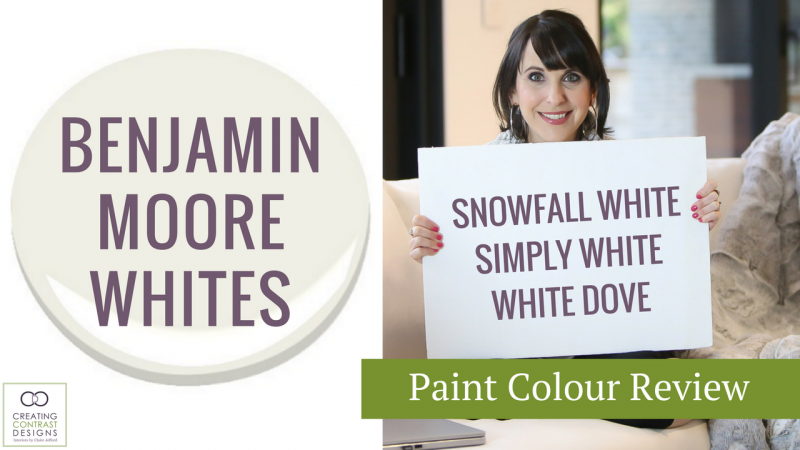 Benjamin Moore White Paint Colours