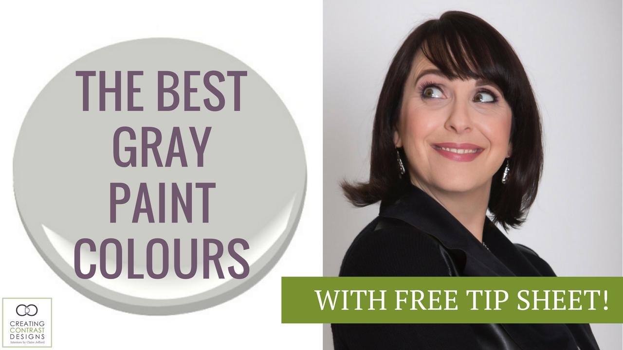 the best gray paint colours