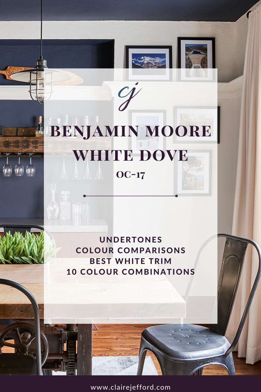 Ecg Cover White Dove Benjamin Moore