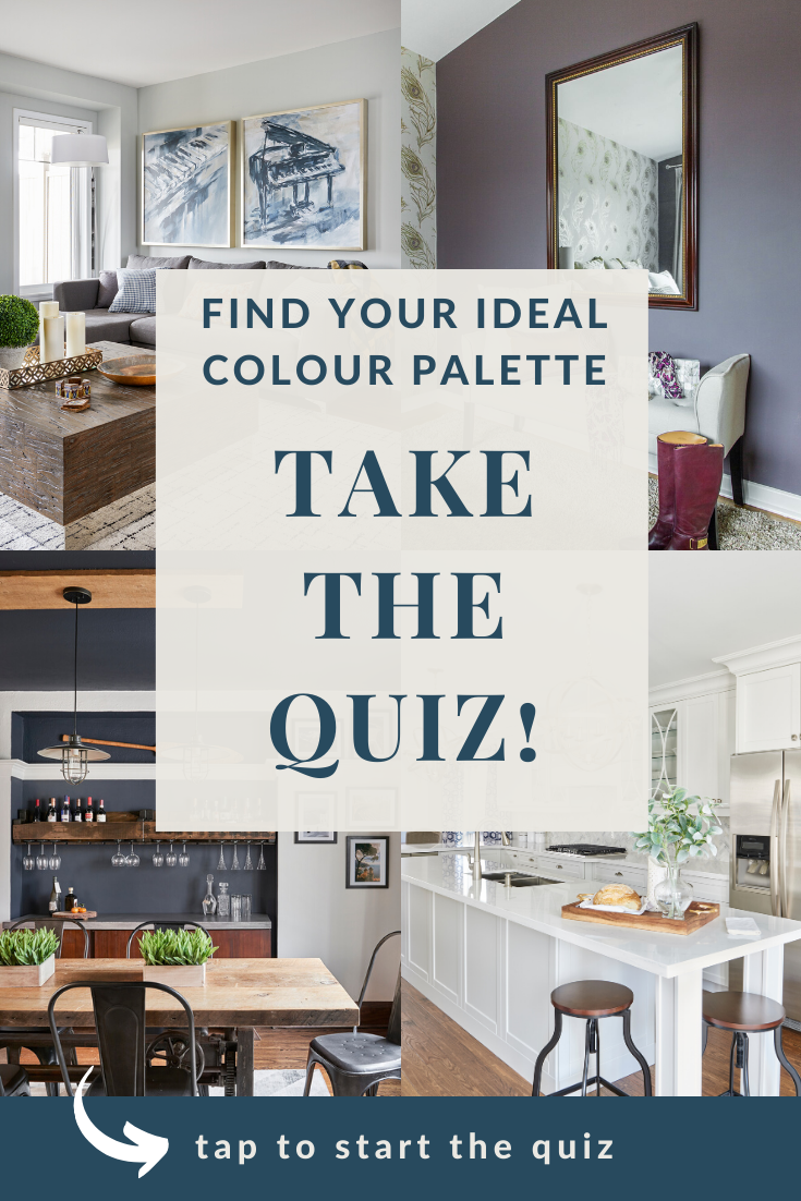 Paint Colour Quiz Graphic With Tap