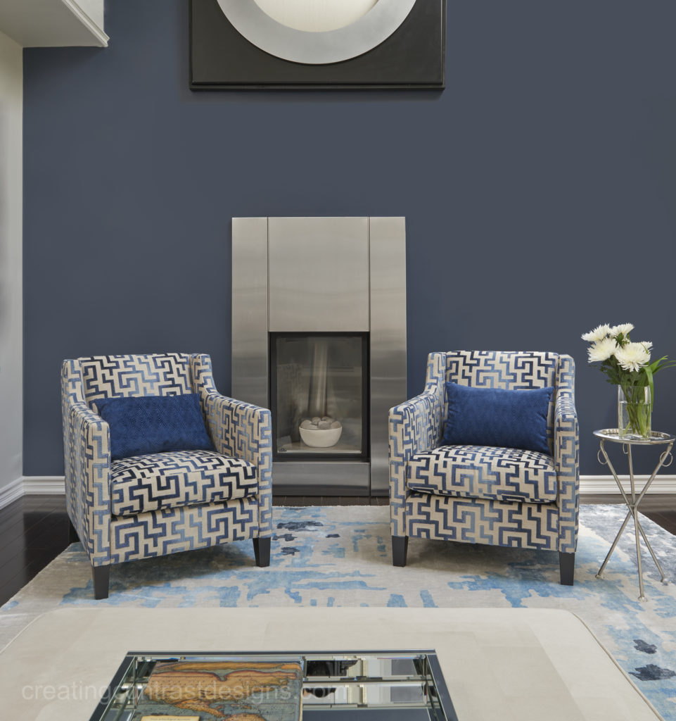 Navy Blue Accent Wall Color Family Room: Hale Navy By Benjamin Moore Colour Review