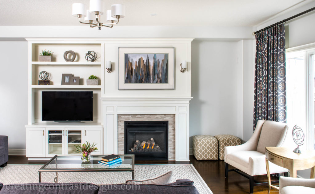 Wickham Gray By Benjamin Moore On The Walls Custom Cabinetry Is Painted Cloud White