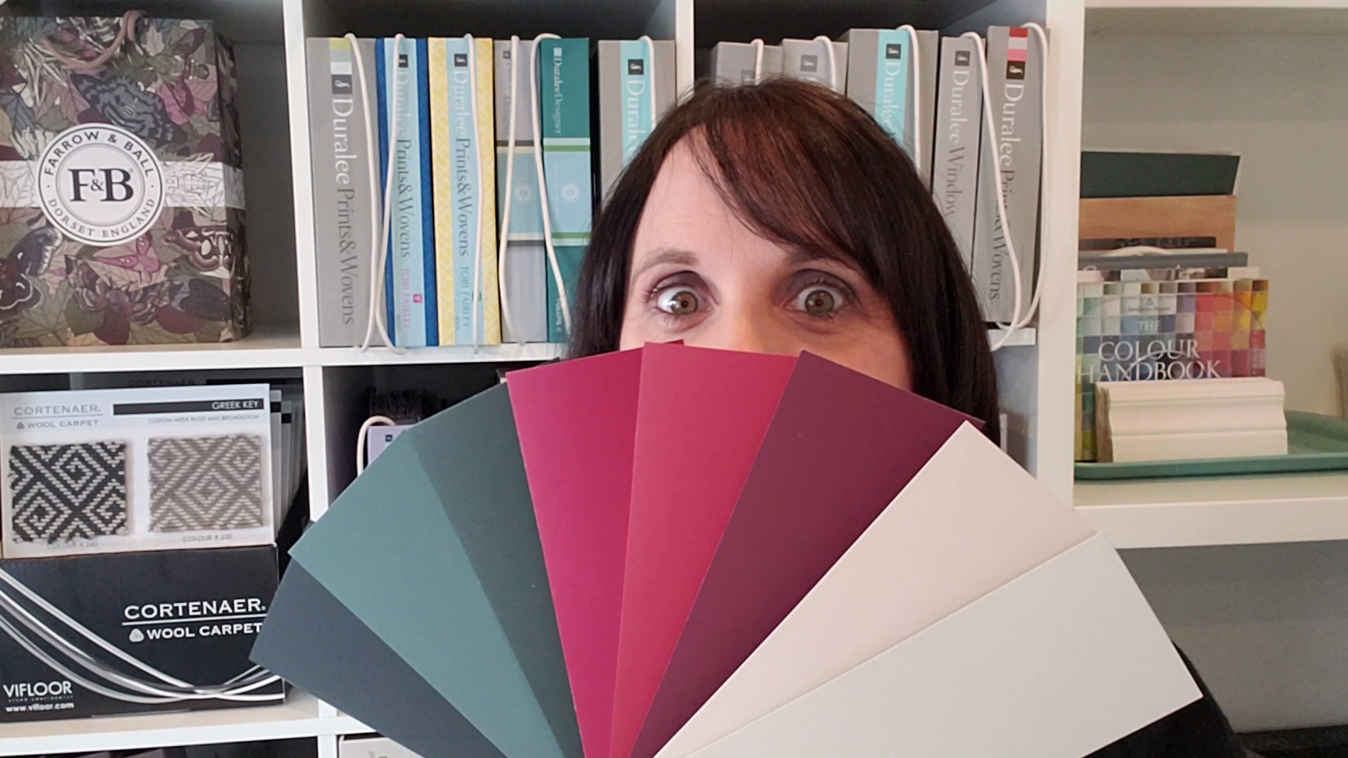 Paint Colour Palette Farrow and Ball with Ikea fabric