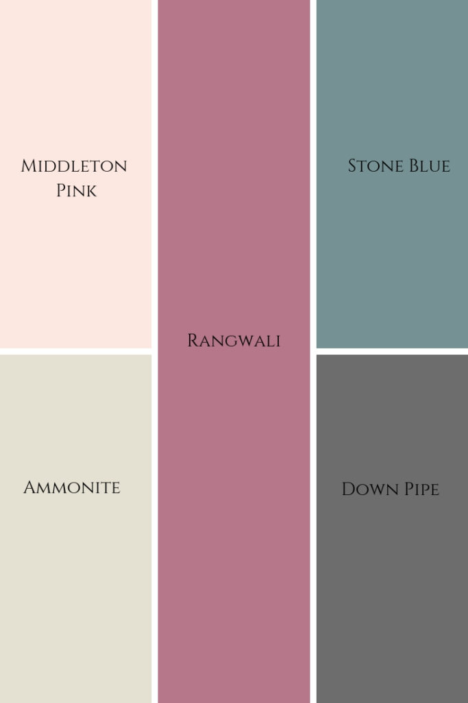 Farrow and Ball 'Fresh' Colour palette