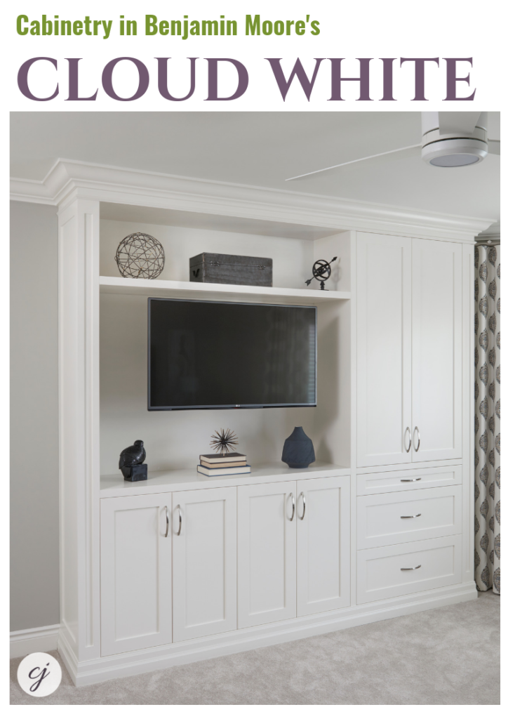 Cloud White Cabinetry CC40 Benjamin Moore