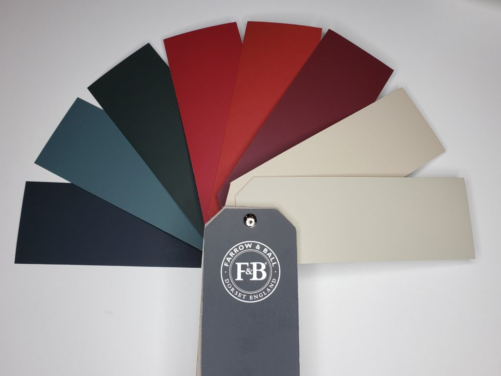 farrow and ball ikea fabric palette