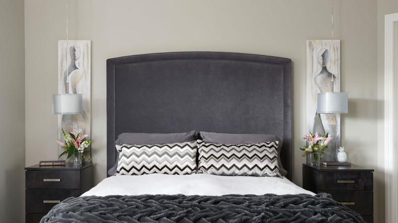 Revere Pewter Transformed This Master Bedroom!