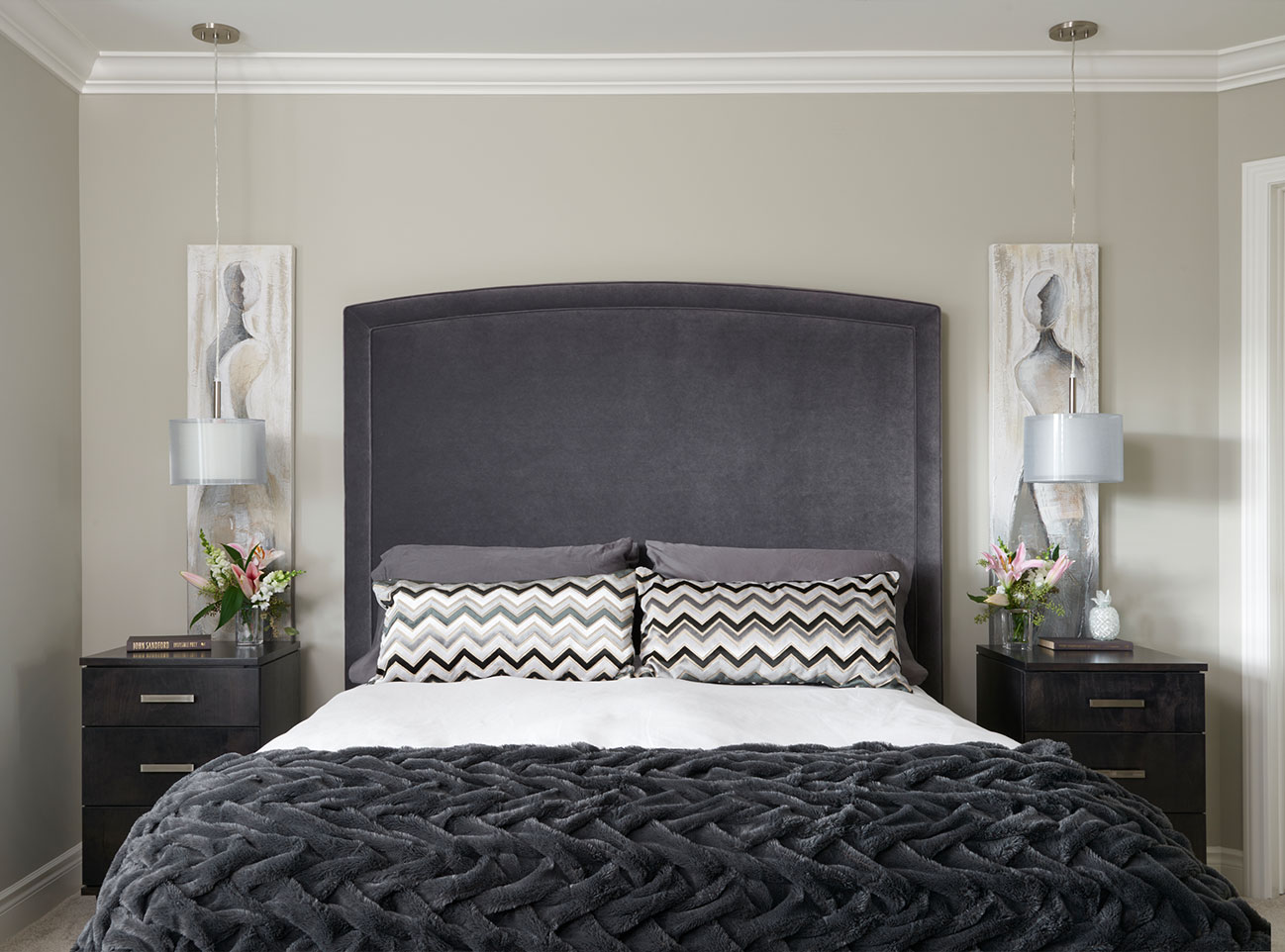 Revere Pewter Transformed This Master Bedroom!