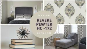 revere pewter master bedroom design