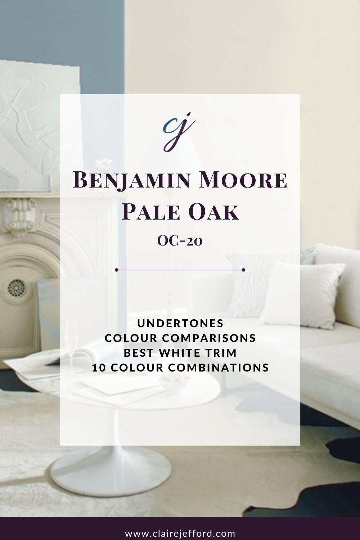 Ecg Cover Pale Oak Benjamin Moore