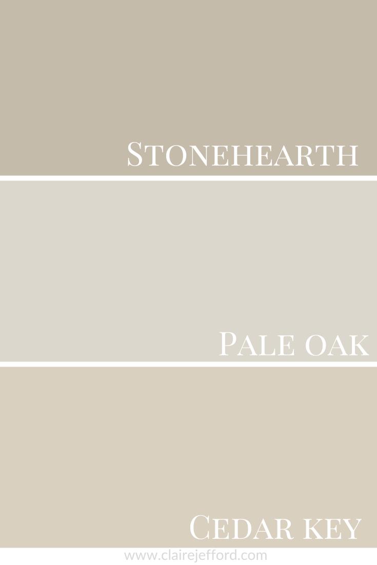 Pale Oak & Pale Oak & Cedar Key