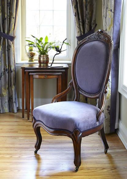 antique-chair-velvet-purple-fabric-burlington-on