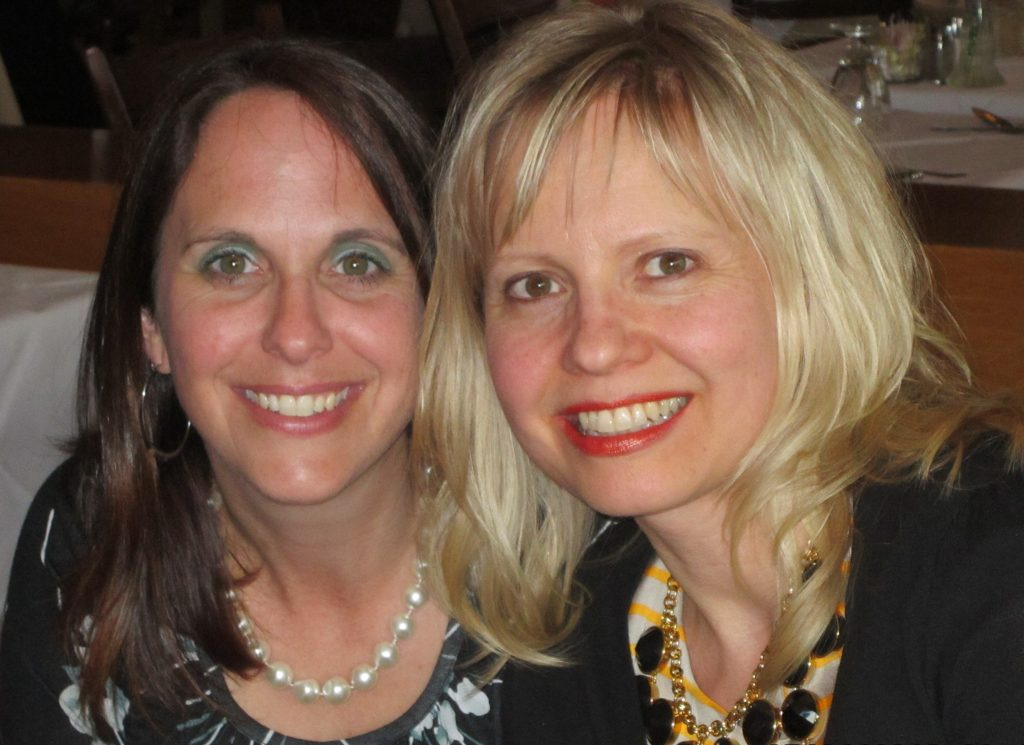 True Colour Expert Maria Killam and I in Toronto, 2012.