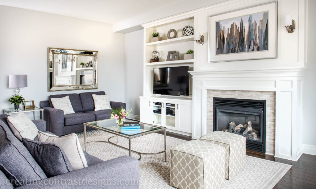 Wickham Gray HC 171 by BM shown here in our clients living room design. Photograph by Stephani Buchman.