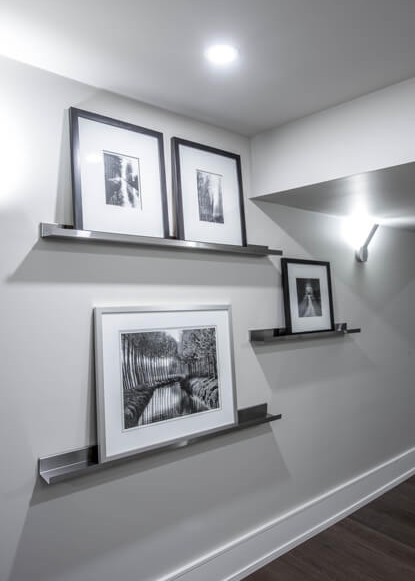 basement-display-wall-with-artwork
