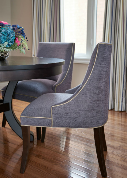 custom-dining-room-chairs-with-contrast-piping-detail-and-custom-pinched-pleated-drapery