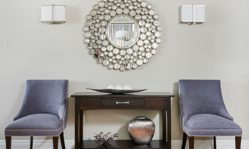 dining-room-vignette-with-shale-walls-by-benjamin-moore