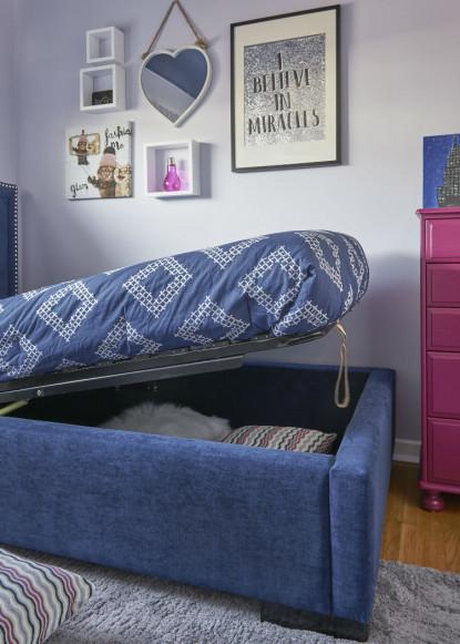 girls-bedroom-with-navy-blue-storage-bed-burlington-on