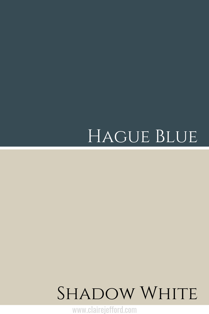 Hague Blue & Shadow White