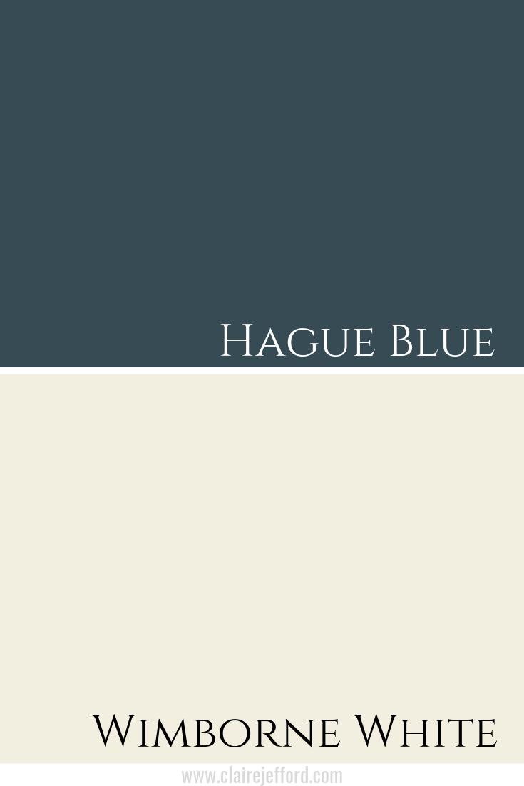 Hague Blue & Wimborne White