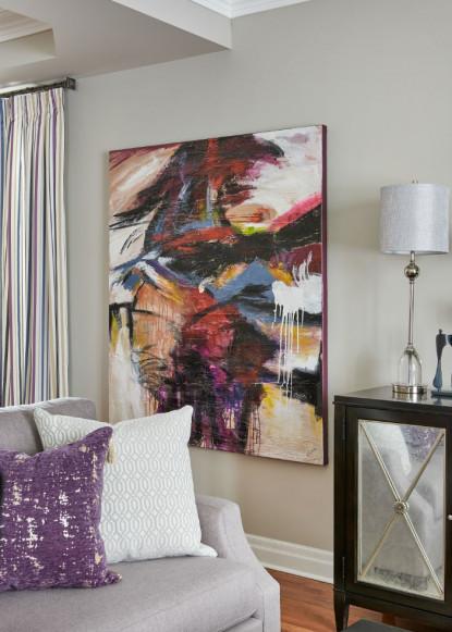 living-room-artwork-claire-jefford-oakville-on
